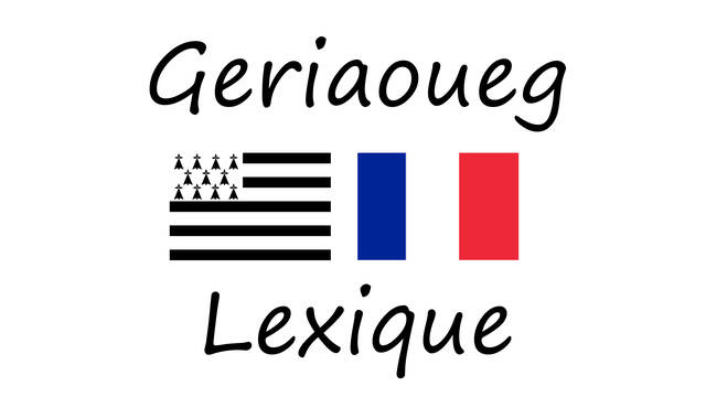 Lexique français - breton - English